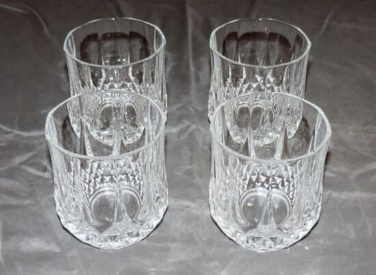 Set of Four Rock Glasses