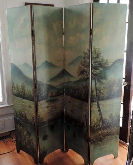 Lage Hand Painted Screen