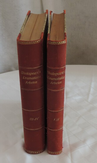 Pair of Leather Bound Books