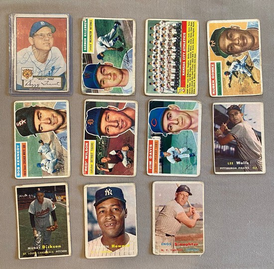 1952-57 Topps Mixed Lot