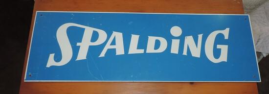 Vintage Spalding Sign