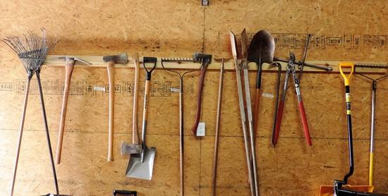 Long Handled Tool Lot