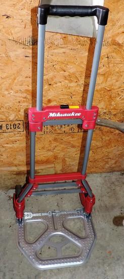 Milwaukee Roll-Around Folding Hand Truck