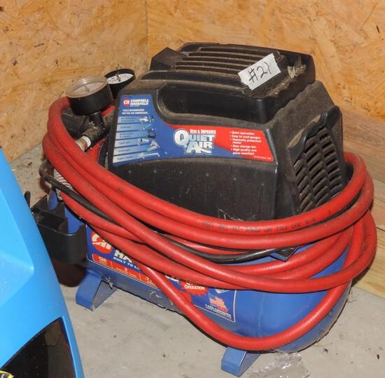 Campbell Hausfeld Quick Air Compressor