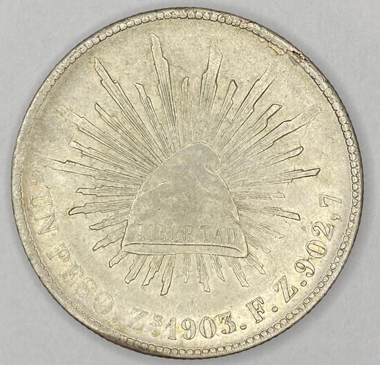 1903 Mexico Silver Peso