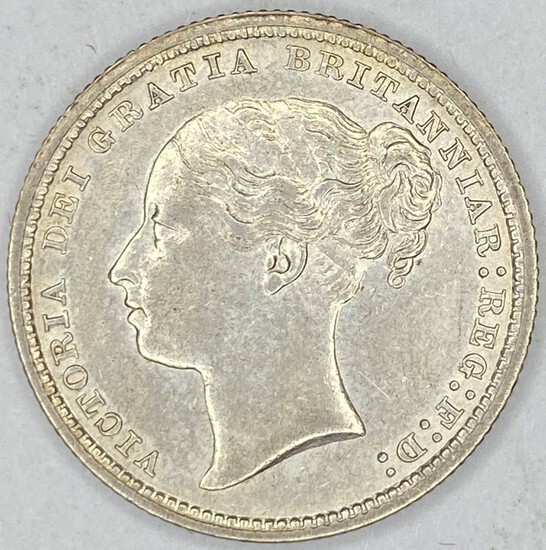 1878 Great Britain Silver Shilling