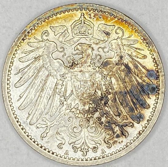1915A Germany Silver 1 Mark