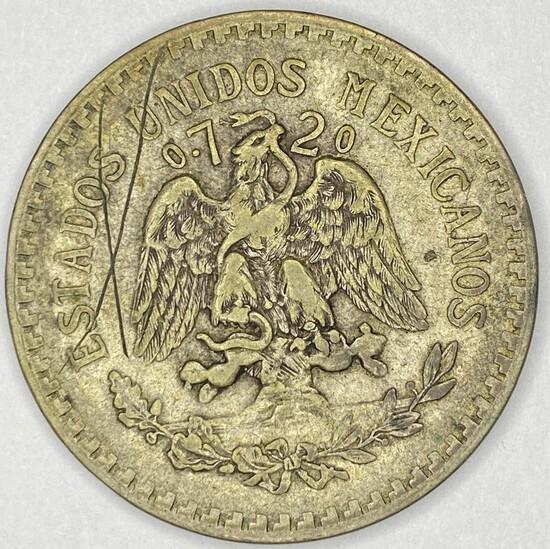 1922 Mexico Silver Peso