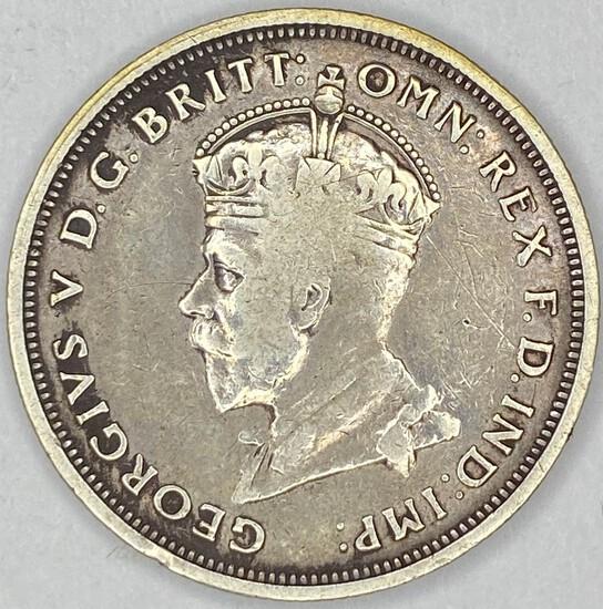 1927 Australia Silver Florin 1 Year Type