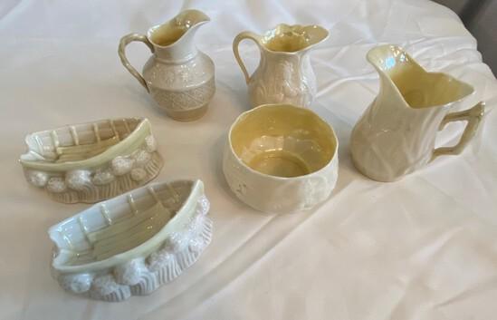 Lot of Belleek Porcelain