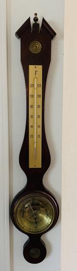 West German Wall Barometer