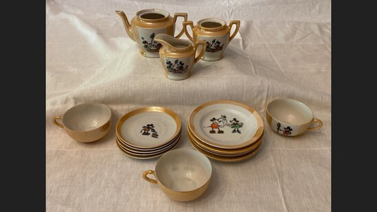 Mickey Mouse Childs Tea Set