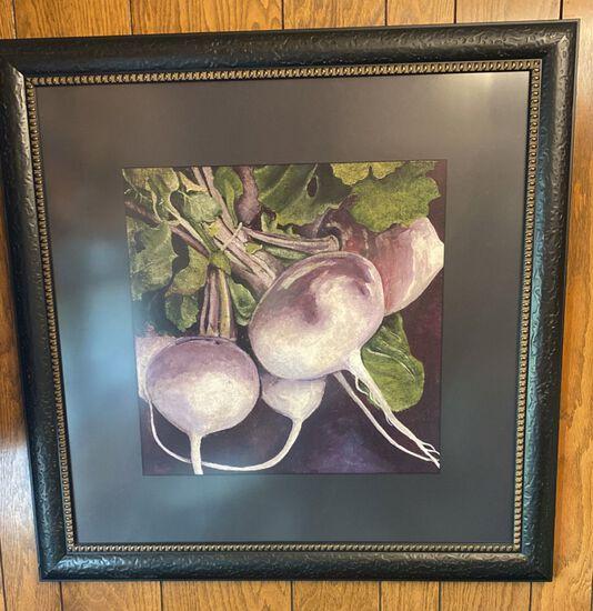 """Oil On Artist Board """"Turnips"""""""