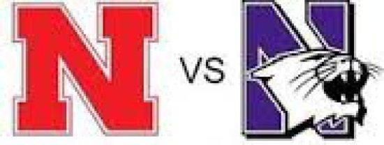 Nebraska vs Northwestern - 2 tickets