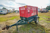 Baldor TS25 Industrial Generator on Trailer