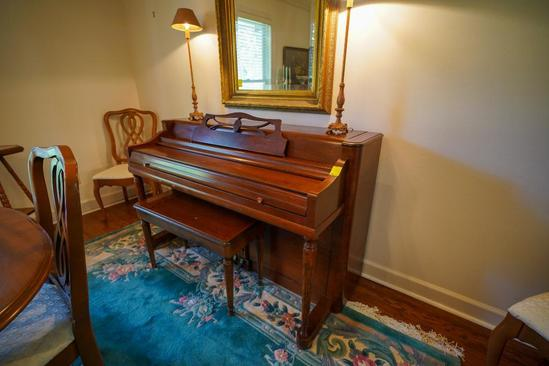 Piano with Bench