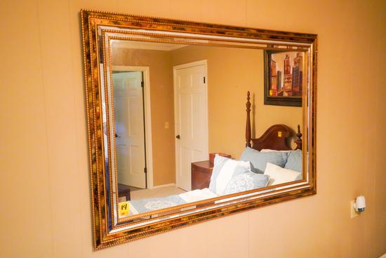 Beveled Edged Mirror 35 x 50 inch