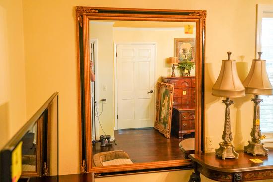 Large Mirror, 54 x 44 Inch