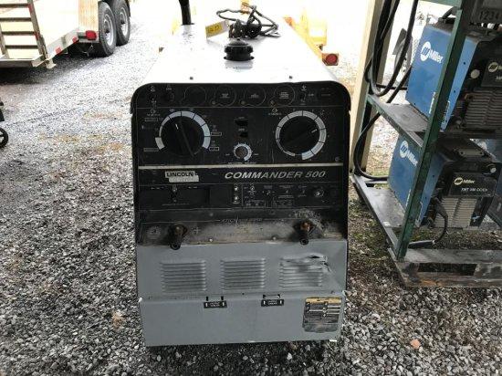 Lincoln Commander 500 welder, 3418hrs