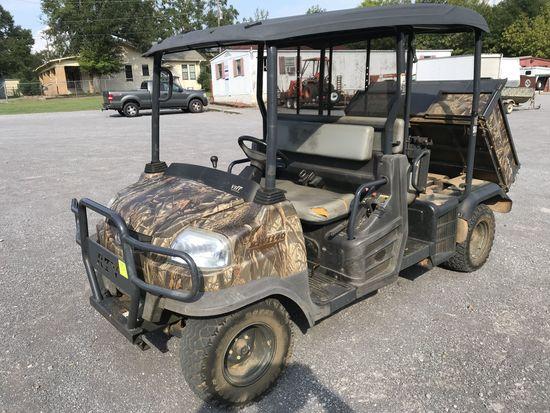 2012 Kubota RTV1140CPX 4x4, 1568hrs, 1.1 liter 3 cylinder diesel engine, automatic, power steering,