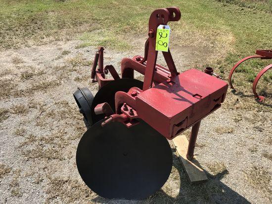 Dearborn heavy duty two disc plow - 2.75% sales tax