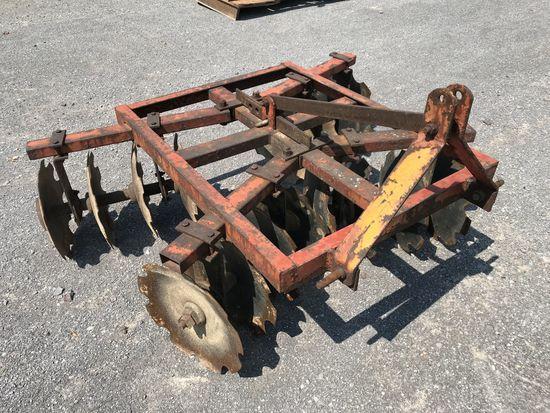 5' disc harrow plow - 2.75% sales tax