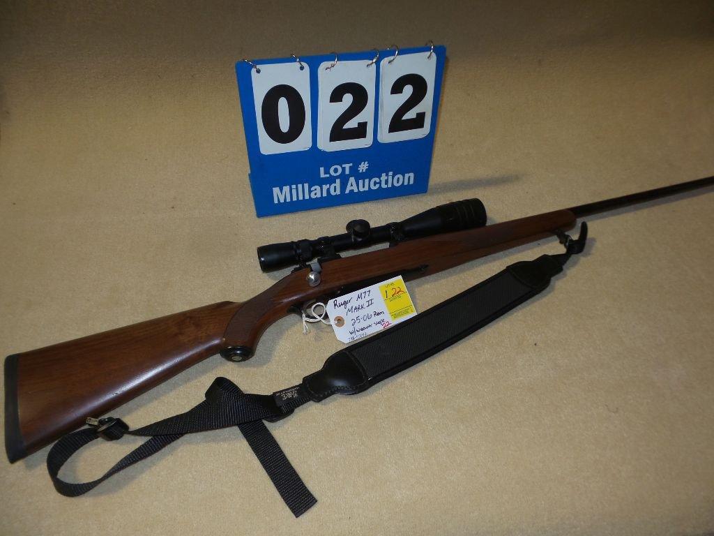 RUGER M77 MARKII  25-06 rem