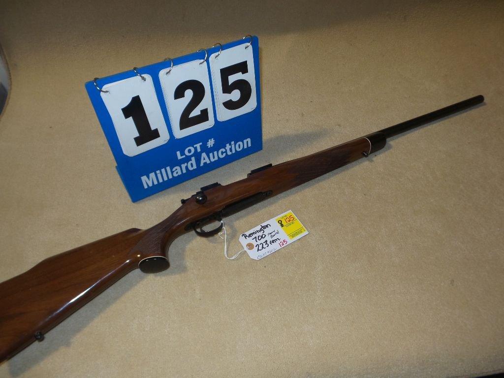 REMINGTON 700 .223 REM (heavy barrel)