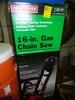 """CRAFTSMAN 16"""" GAS CHAIN SAW 36cc ENGINE"""