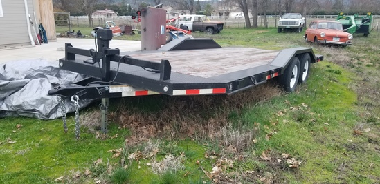 18ft Flat Bed Car Hauler 10 ton