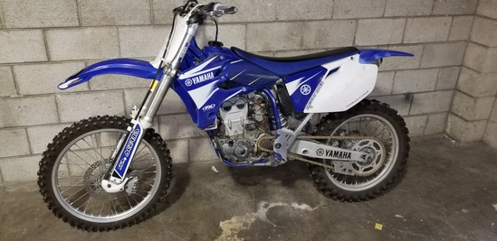2003 YAMAHA YZ450f
