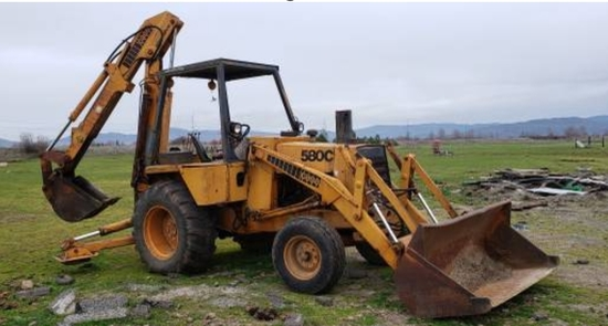 CASE 580C BACKHOE EXTEND A HOE