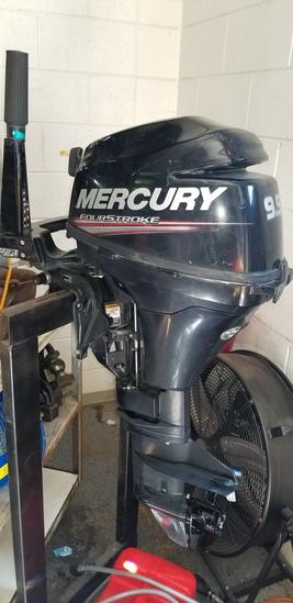 MERCURY 9.9  4 STROKE KICKER MOTOR