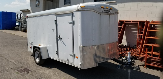 12FT HALLMARK ENCLOSED TRAILER