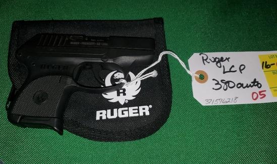 RugerLCP .380 pistol