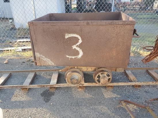 Mining Cart w/Rails