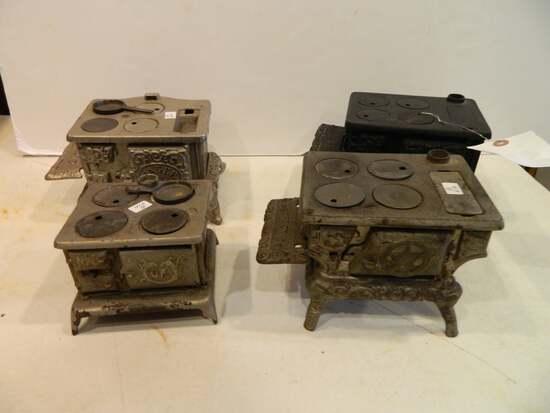 Four Cast Iron Toy