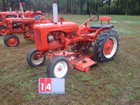 ALLIS CHALMERS B WITH BELLY MOWER
