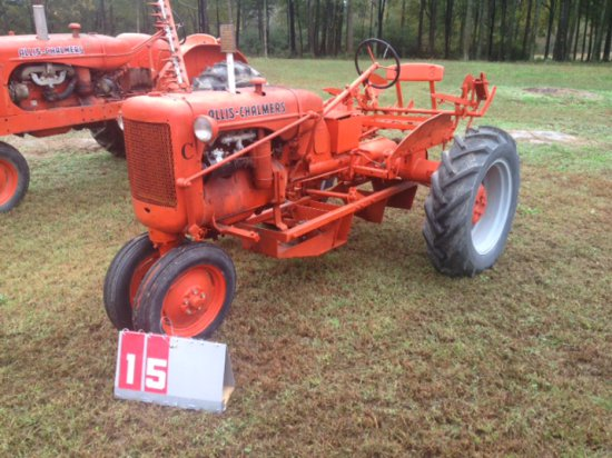 ALLIS CHALMERS C WITH BELLY MOUNT SICKLE MOWER