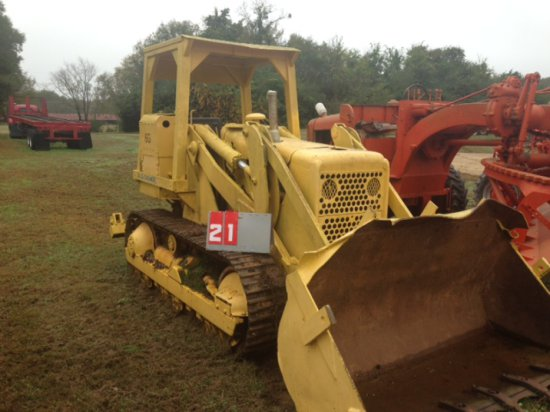 ALLIS CHALMERS 6G, WITH BUCKET AND RIPPER