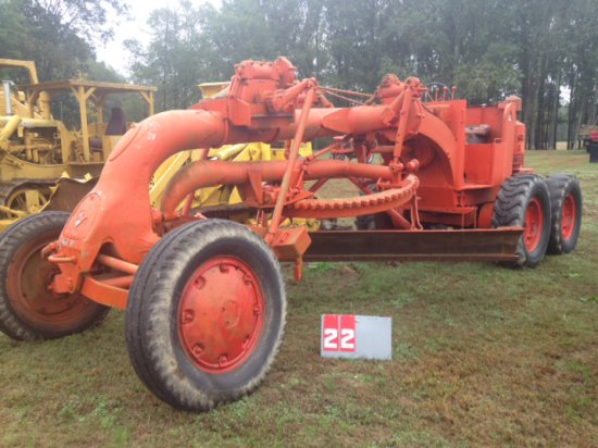 ALLIS CHALMERS ROAD PATROL, WITH 12 FT BLADE AND FRONT RIPPER