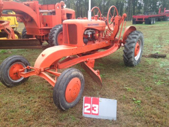 ALLIS CHALMERS WC ROAD PATROL WITH 10 FT BLADE