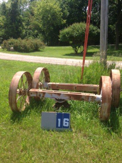 ENGINE TRUCK WHEELS