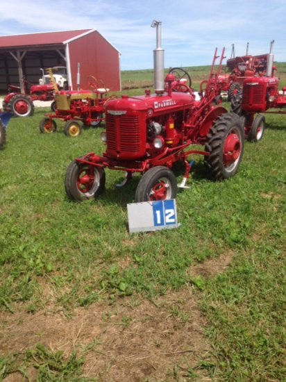 FARMALL A WITH CULTIVATOR, 195888