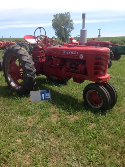 FARMALL SH WITH 3 PT HITCH, 20459