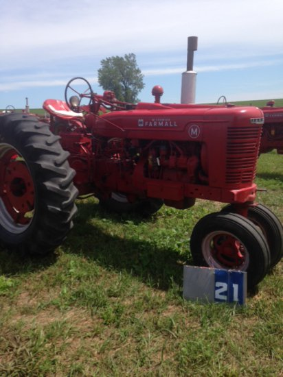 FARMALL M, POWER STEERING, 9 SPEED TRANS, 57357