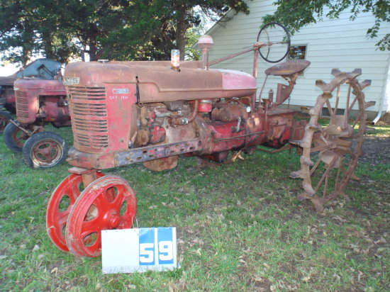 FARMALL H, FBH142342, OCT 1943, WARTIME, HAND CRANK