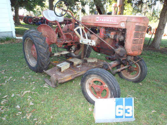 FARMALL A, 56207, WITH MOWER
