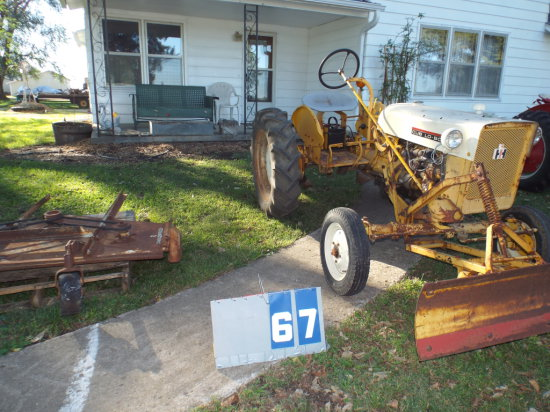 FARMALL CUB LO-BOY, 21997J, 1955, RUNS