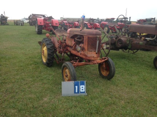 MASSEY HARRIS 820, 109007, ORIGINAL, MADE IN FRANCE, WITH 2 WAY PLOW